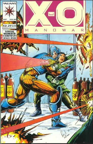 X-O Manowar (1992) 20-A by Valiant