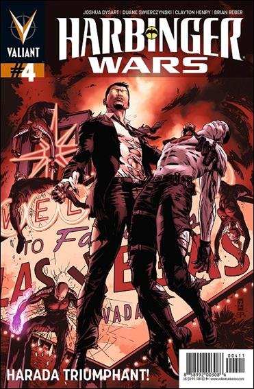 Harbinger Wars 4-A by Valiant Entertainment