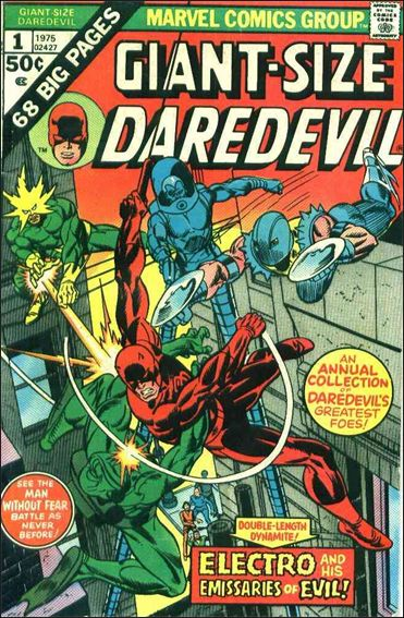 Giant-Size Daredevil 1-A by Marvel