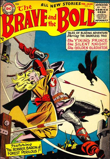 Brave and the Bold (1955) 4-A by DC