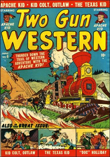 Two Gun Western 8-A by Marvel
