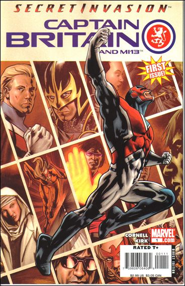 Captain Britain and MI13 1-A by Marvel
