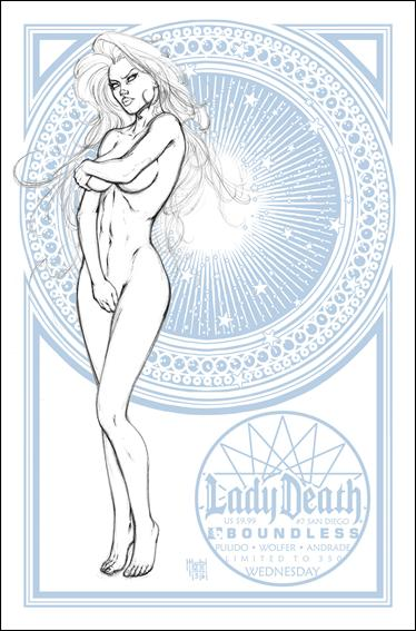 Lady Death (2010) 7-D by Boundless Comics