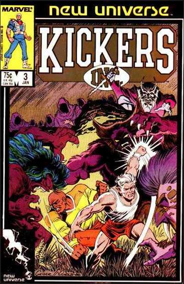 Kickers, Inc. 3-A by Marvel