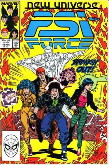Psi-Force 16-A by Marvel