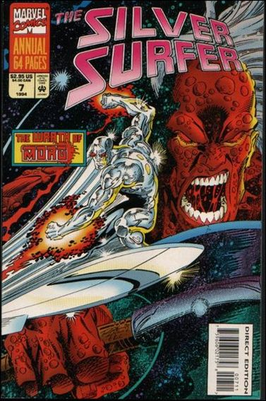 Silver Surfer Annual 7-A by Marvel