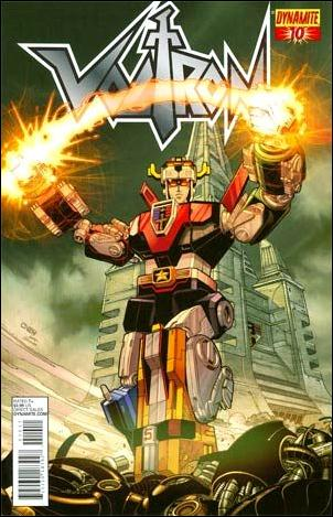 Voltron (2011) 10-A by Dynamite Entertainment
