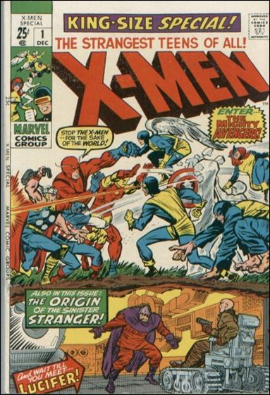 Uncanny X-Men Annual (1970) 1-A by Marvel