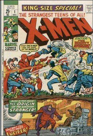 Uncanny X-Men Annual (1970) 1-A