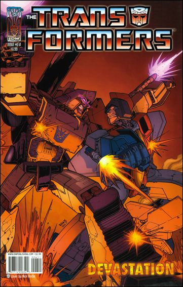 Transformers: Devastation 6-A by IDW
