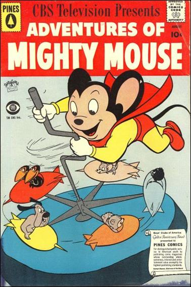 Adventures of Mighty Mouse (1956) 144-A by Pines