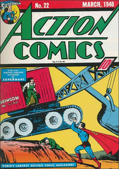 Action Comics (1938) 22-A by DC
