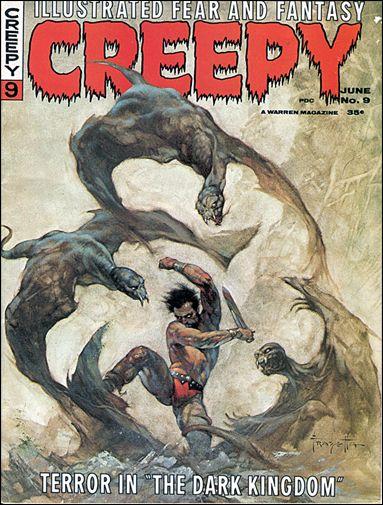 Creepy 9-A by Warren