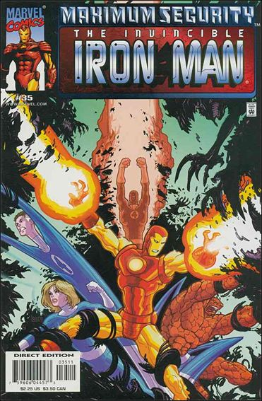 Iron Man (1998) 35-A by Marvel