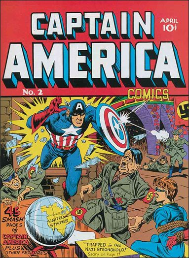 Captain America Comics (1941) 2-A by Timely