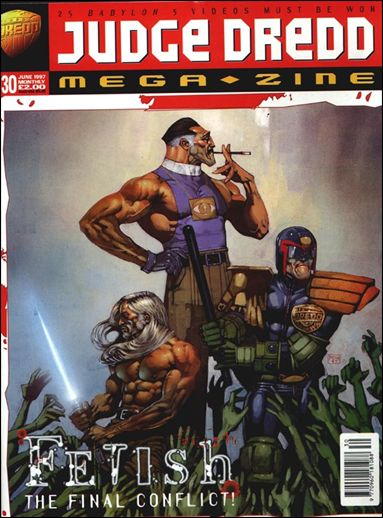 Judge Dredd Megazine (1995) 30-A by Fleetway