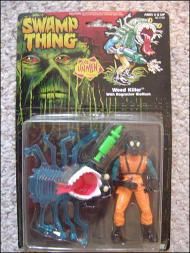 Swamp Thing Weedkiller (w/Bogsucker Biomask) by Kenner