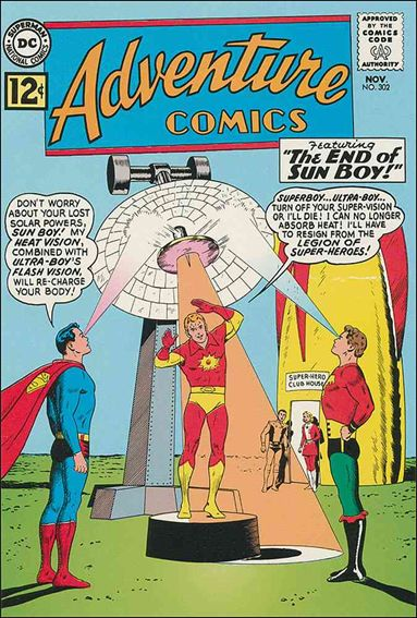 Adventure Comics (1938) 302-A by DC