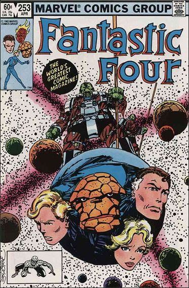Fantastic Four (1961) 253-A by Marvel
