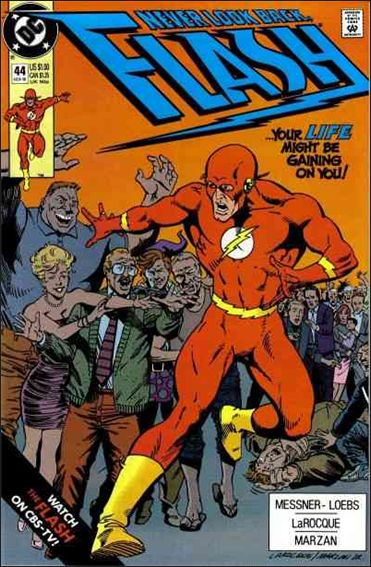 Flash (1987) 44-A by DC