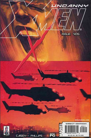Uncanny X-Men (1981) 405-A by Marvel