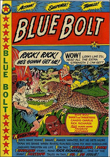 Blue Bolt Comics 102-A by Star Publications
