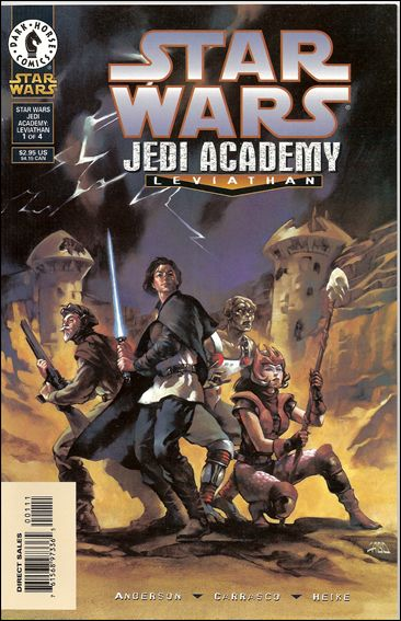 Star Wars: Jedi Academy - Leviathan 1-A by Dark Horse