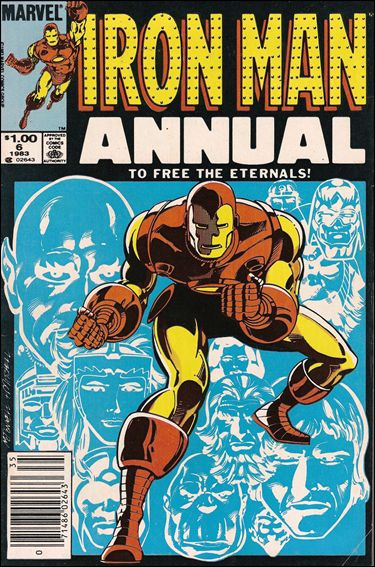 Iron Man Annual 6-A by Marvel