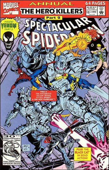 Spectacular Spider-Man Annual 12-A by Marvel