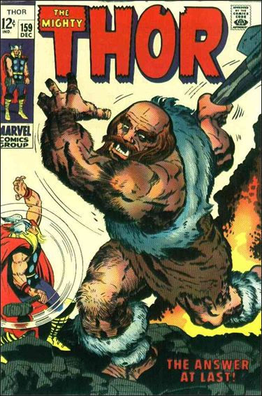 Thor (1966) 159-A by Marvel