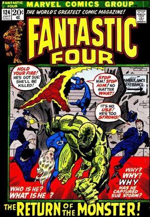 Fantastic Four (1961) 124-A