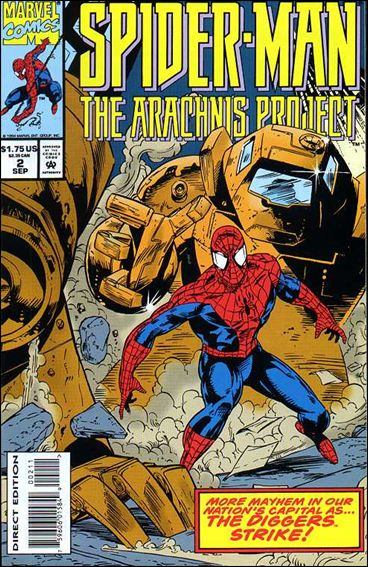 Spider-Man: The Arachnis Project 2-A by Marvel