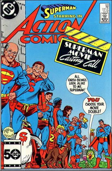 Action Comics (1938) 569-A by DC