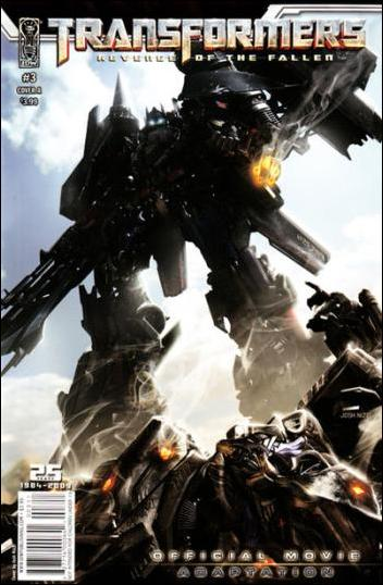 Transformers: Revenge of the Fallen Official Movie Adaptation 3-A by IDW