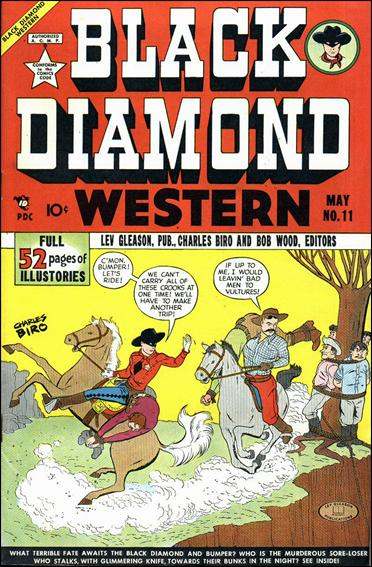 Black Diamond Western 11-A by Lev Gleason Productions