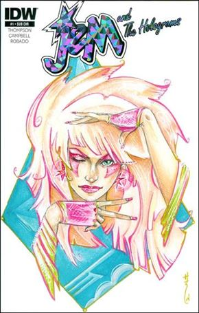 Jem & the Holograms 1-F