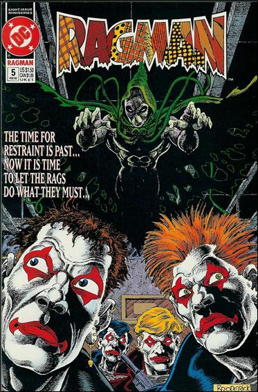 Ragman (1991) 5-A by DC