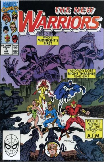 New Warriors (1990) 2-A by Marvel