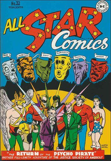 All Star Comics (1940) 32-A by DC