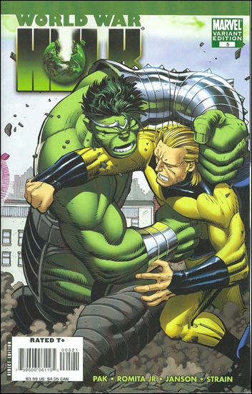 World War Hulk 5-B by Marvel