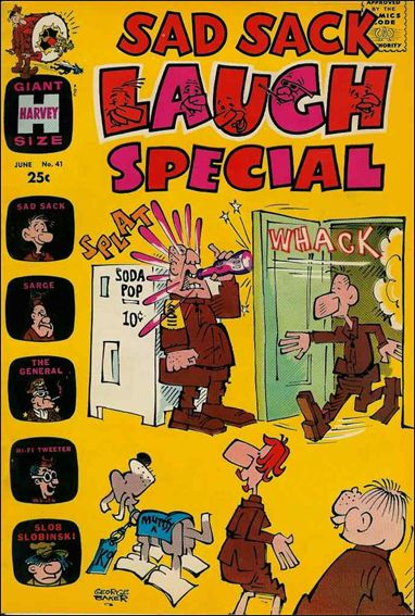 Sad Sack Laugh Special 41-A by Harvey