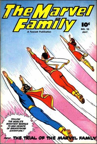 Marvel Family 25-A by Fawcett