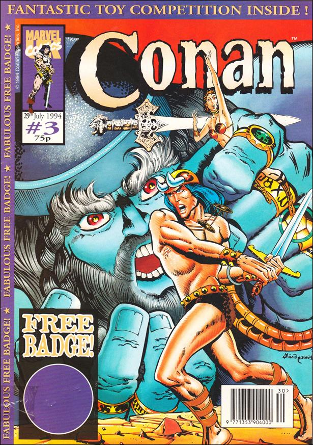 Conan the Adventurer (UK) 3-A by Marvel UK