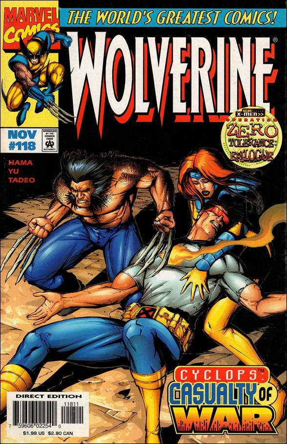 Wolverine (1988)  118-A by Marvel