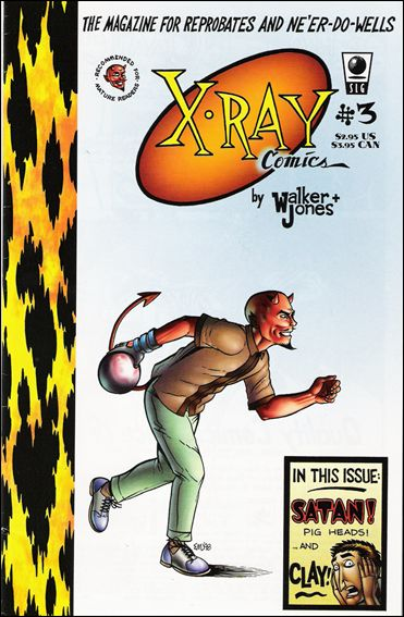 X-Ray Comics 3-A by Slave Labor Graphics (SLG) Publishing