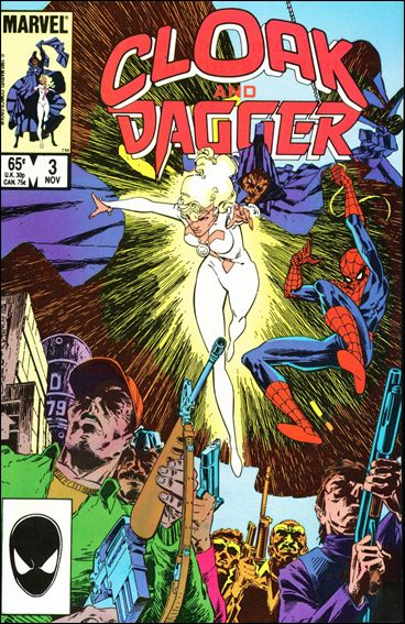 Cloak and Dagger (1985) 3-A by Marvel