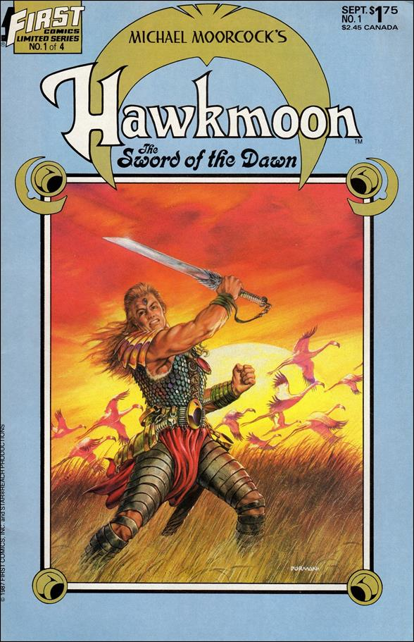Hawkmoon: The Sword of the Dawn 1-A by First