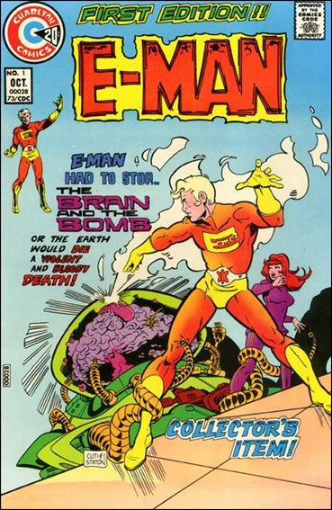E-Man (1973) 1-A by Charlton
