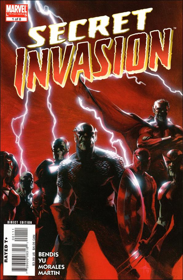 Secret Invasion 1-A by Marvel