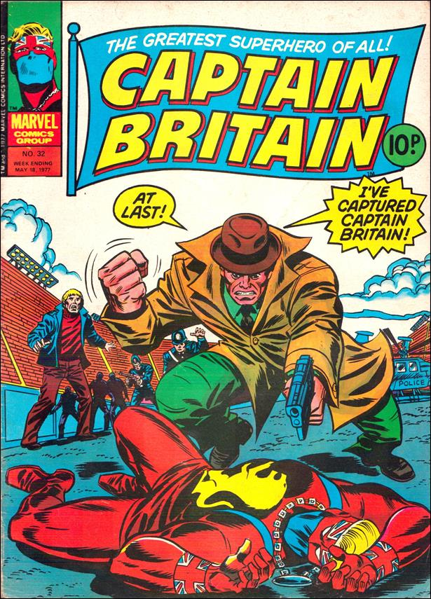 Captain Britain (UK) (1976) 32-A by Marvel UK